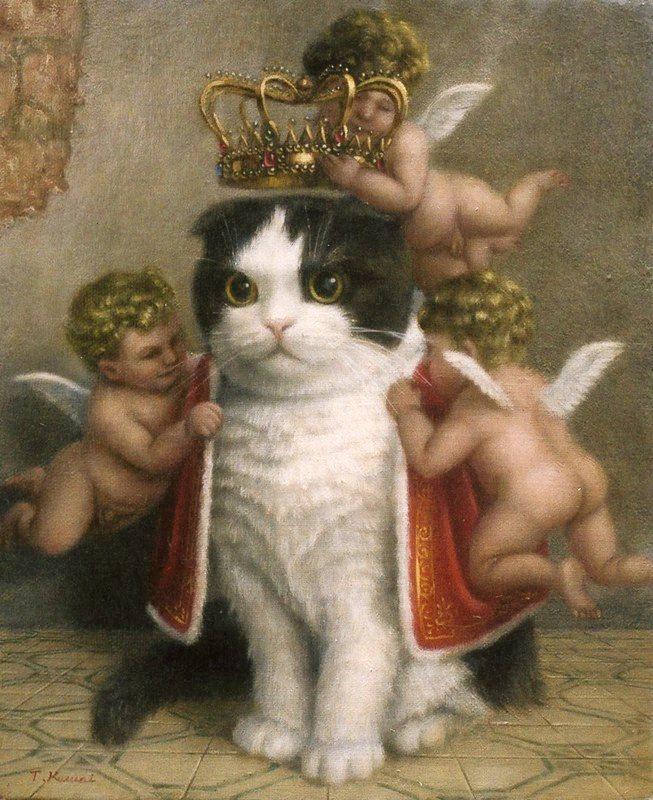 Кот King.